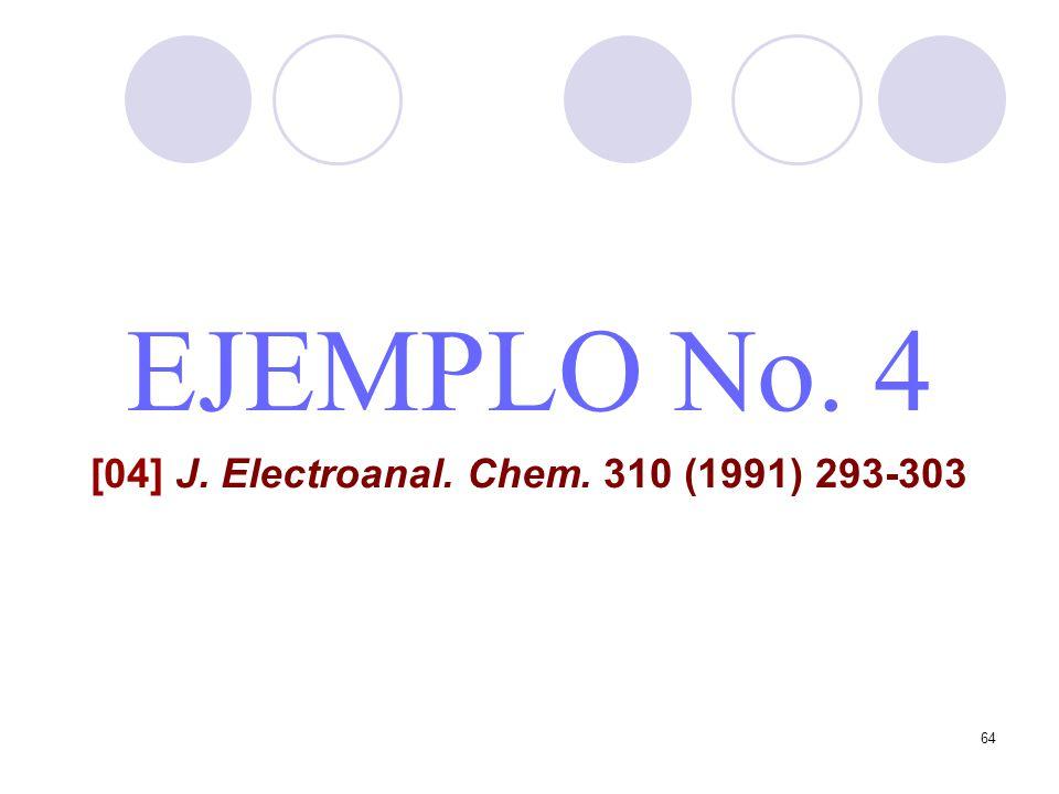 [04] J. Electroanal. Chem. 310 (1991) 293-303